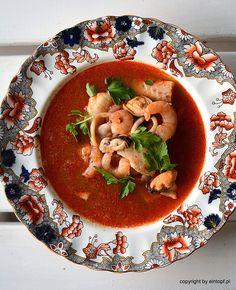 eintopf: cytrusowa zupa z owocami morza