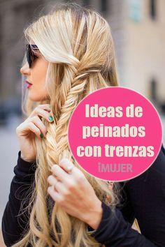¡Haz click en la imagen y conoce más de 20 ideas de peinados con #trenzas que seguro amarás!