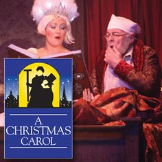 A CHRISTMAS CAROL NOVEMBER 14 - DECEMBER 23, 2013 At Dutch Apple Dinner Theater.  Got our tickets!