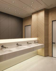 Light is the motion II on Behance School Bathroom, Office Bathroom, Small Bathroom, Washroom Design, Bathroom Design Luxury, Wc Public, Toilette Design, Toilet Room, Public Bathrooms