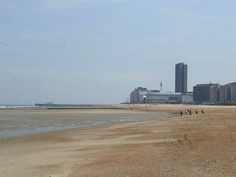 Ostend Belgium. looks like the nude beach we saw coming in from England!