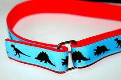Boys Dinosaur Belt Dinosaur Velcro D Ring Belt Boys  Blue Belt Kids Dino Belt Blue Dinosaur Belt Childrens Velcro Belt