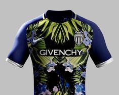 Les maillots de foot dessinés par des marques de luxe : AS Monaco by Givenchy
