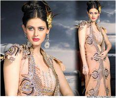 Exquisite-Pure-Georgette-Saree-Embroidery-designs-salwar-kameez
