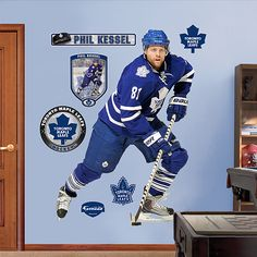 View our Phil Kessel Fathead and other similar products for sale at great affordable prices with the opportunity to get big savings on your purchase. Vancouver Canucks, Hockey Games, Hockey Players, Henrik Sedin, Phil Kessel, Hockey Decor, Maple Leafs Hockey, Hockey Baby, Toronto Maple Leafs