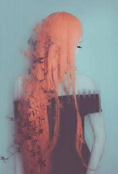 Creepy Photo Manipulations by Leslie Ann O'Dell #digitalart #digital #photomanipulation #manipulation #art