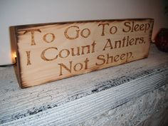 E will love this :) For our future little cavebaby!! Either boy or girl they will be a hunter!!