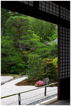 Nanzen-ji Temple, Konchi-in  金地院  Zen Garden, Kyoto