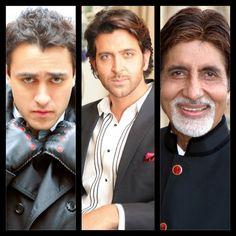 #instacollage #bollywood #imrankhan @ihrithik @srbachchan #actors #portraits #sohailanjumphotography #sohailanjum