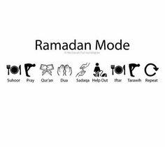 Ramadan mode.