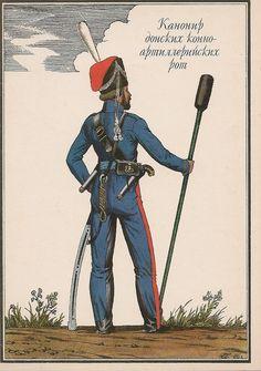 RUSSIA - Artigliere Cosacco, 1812
