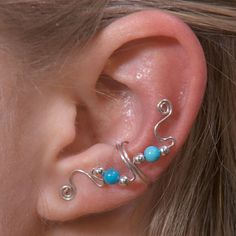 LP Ear Cuff Designs: Wire Jewelry | Wire Wrap Tutorials | Jewelry Making Wire