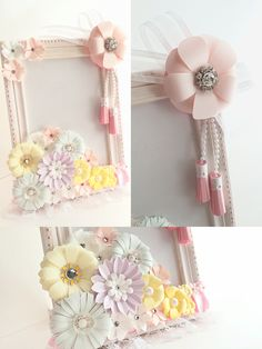 Baby photo frame in pastel colors ♯3