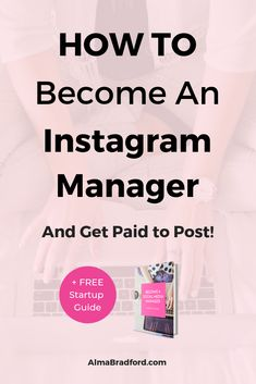 Learn how to replace your full-time income as a Instagram manager helping business owners manage their accounts. This FREE guide will show you exactly how I started my own social media management business and grow a profitable business. #workfromhome #onlinebusiness #SocialMediaManagement