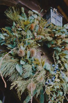 Winter wreath Photo: @alanlawphoto