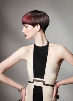 From the Summer Solstice Collection. More hair photos at www.modernsalon.com/hair-photos