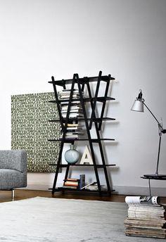 Vico Magistretti's Nuvola Rossa free standing shelves - Cassina