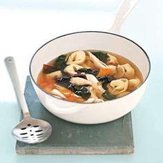 Tortellini Soup. Sounds pretty easy