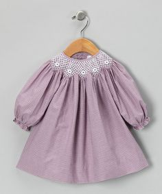 Take a look at this Plum Bishop Dress - Toddler by Petit Pomme on #zulily today!