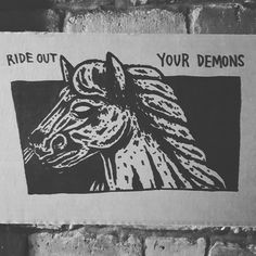 RIDE OUT YOUR DEMONS / GODSTEETH Illustration