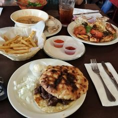 Check Out Cafe Pita in Houston, TX as seen on Diners, Drive-ins and Dives and featured on TVFoodMaps.