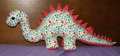 Moldes Grátis | Free Sewing Patterns: Dinossauro Grande | Stuffed Dinosaur