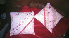 Cushions made for Beth's wendy house