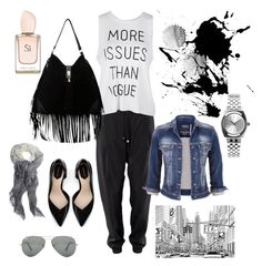 """""""City"""" by hayatben on Polyvore featuring maurices, Zara, Steve Madden, Nixon and Ray-Ban"""