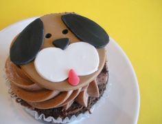 dog cupcake puppy!