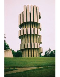 Battle of Kozara Memorial in Former Yugoslavia.  Cool shape.