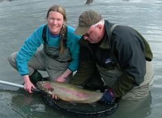 Fall Special 2015! Silver Salmon * Trophy Rainbow Trout Aug 23-Sept 20 *6 Nights Lodging, Hearty Breakfast, 4 Fishermen's Lunches, Friday Night Fish-Fry *4 Guided Fishing Trips - All Gear Provided -3 Silver Salmon Trips - Kenai River (8 Hrs) -1 Rainbow Trout Trip - Kenai River -1 ~ 50 Lb. Box of Fish Processed  Fall Special Price:  $1,795 per Person Add 3 more people:  $1,695 per Person, 1-800-478-1789 akdeniselakelodge@gmail.com…