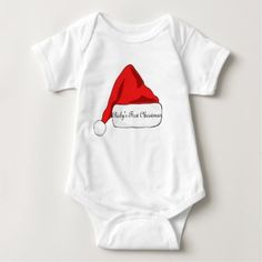 Baby's First Christmas outfit unisex Baby Bodysuit - girl gifts special unique diy gift idea