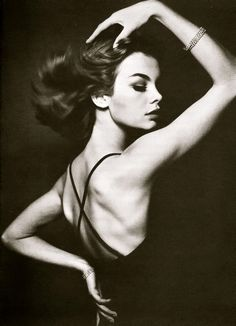 Jean Shrimpton. Vogue, 1963. David Bailey.