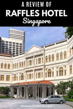 A glimpse inside Raffles Hotel Singapore, to see what makes this world famous luxury hotel so special.Even if you can't afford to stay at this fabulous Singapore hotel you can still try out their afternoon tea or sip on a Singapore Sling in the Long Bar.  Add it to your travel plans! #Singapore #asiatravel #worldtravel