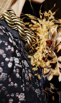 Backstage at Dries van Noten Fall/Winter 2015-2016 at Paris Fashion Week | Vogue English