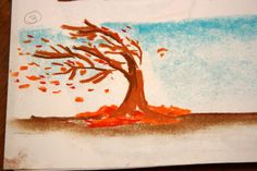 WIND IN THE TREE CHALK PASTEL TUTORIAL