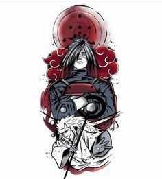 Check out this awesome 'madara' design on Wallpaper Naruto Shippuden, Naruto Shippuden Sasuke, Naruto Wallpaper, Itachi Uchiha, Naruto Drawings, Naruto Sketch, Anime Naruto, Naruto Art, Naruto Tattoo