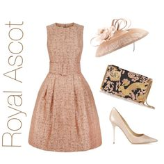 Royal Ascot by gina-foster-millinery on Polyvore featuring Jimmy Choo and Lanvin