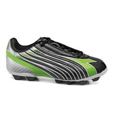 SALE - Diadora Solano Soccer Cleats Kids Black - Was $29.99. BUY Now - ONLY $25.99