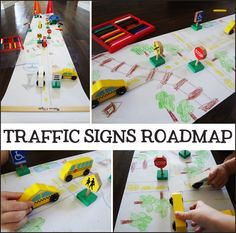 Teaching safety to kids (activity and craft)  Ages 3-6  ELA.7.32 Identify five common signs or symbols ELA.7.33 Name sounds heard in familiar environment