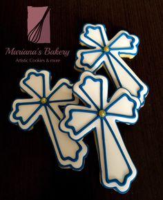 Baptism cookies First Communion cookies favor cookies (1 dozen) de MarianasBakery en Etsy https://www.etsy.com/mx/listing/385413424/baptism-cookies-first-communion-cookies