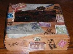 Altered Cigar Boxes & More