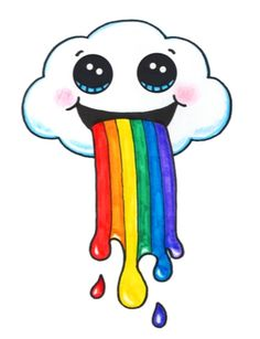 Cloud Puking A Rainbow