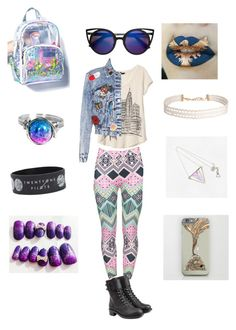 """""""🎨going to college💻gonna study liberal arts🌎"""" by odscene on Polyvore featuring Banana Republic, Alice + Olivia, Philosophy di Lorenzo Serafini and Humble Chic"""