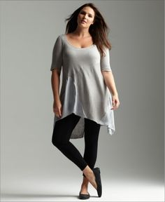 plus size tunics - plusshe.com