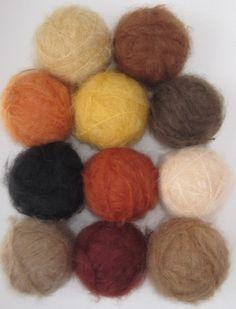 Mohair Smooth Waldorf Doll Hair Yarn. $7.49, via Etsy.