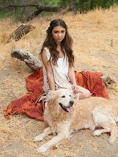 Rowan and her dog