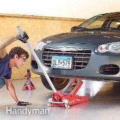 Car Repair: Car Jack Safety