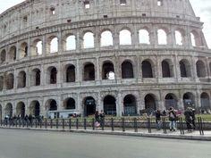 Outside the Colisseum
