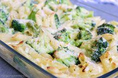 Rezepte mit Herz ♥: Nudelauflauf mit Brokkoli und Parmesansauce ♡